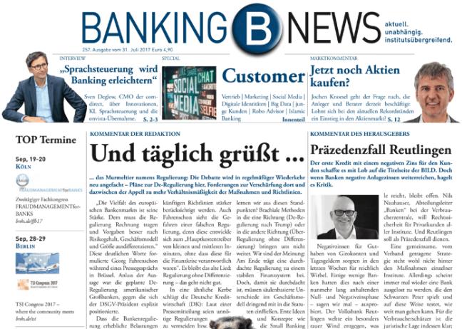 Bankingnews Ausgabe 257